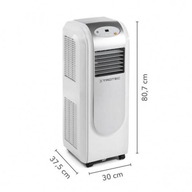 Mobil klíma PAC 2000 E, 2,1 kw, távirányító, hűtés, légtisztítás, párátlanítás, UTOLSÓ DARABOK AKCIÓ!!!