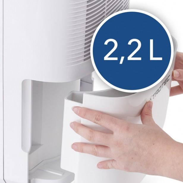 Trotec TTK 30 E - Páramentesítő max. 12 l/nap, 15 m2-ig, - digitális, LED design - német márka