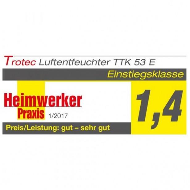 Trotec TTK 53 E - Párátlanító penész megelőzésére - modern, LED - max. 16 l/nap, 31 m2-ig - német márka