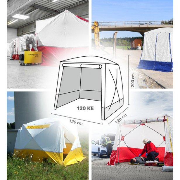 Lapos tetős munkasátor / szerelősátor - 120X120X200 cm mérteben, Trotec  120 KE