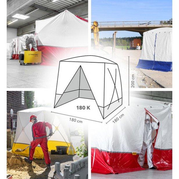 Lapos tetős munkasátor / szerelősátor - Trotec 180 K