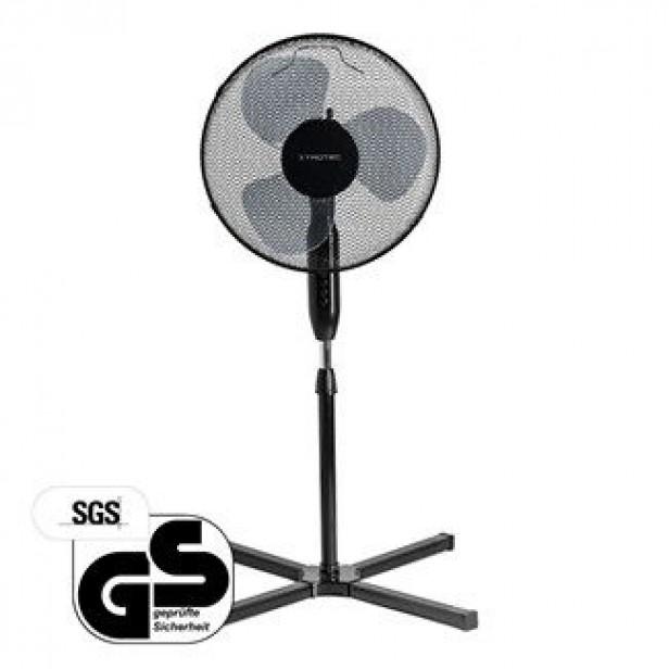 Trotec TVE 17 S, Álló ventilátor, 40 Watt, függőlegesen állítható, 80° oszcilláció, 30° lejtésszögig állítható