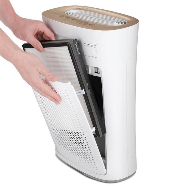 Könnyen kezelhető AirgoClean®110 E légtisztító