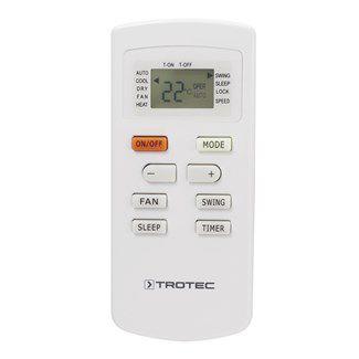 Távirányítóval is szabályozható komfortos mobilklíma PAC 2610 E