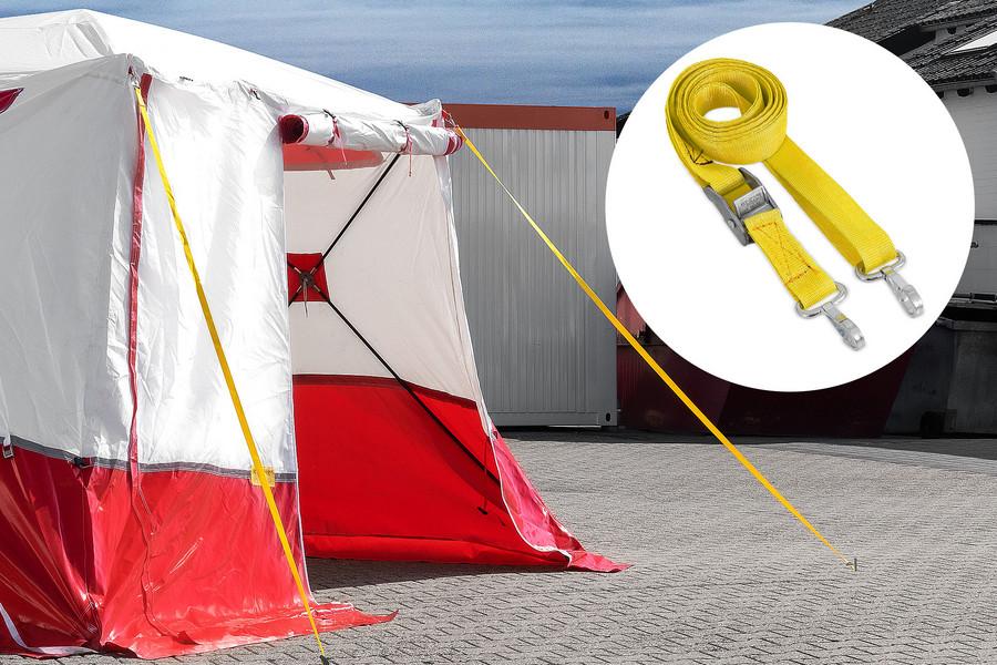 Trotec - 350 KE Lapos tetős munkasátor spaniferrel